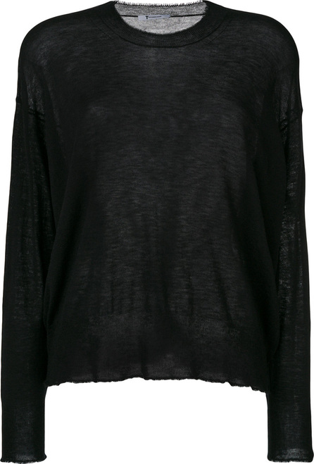 T By Alexander Wang Knitted  sheer top