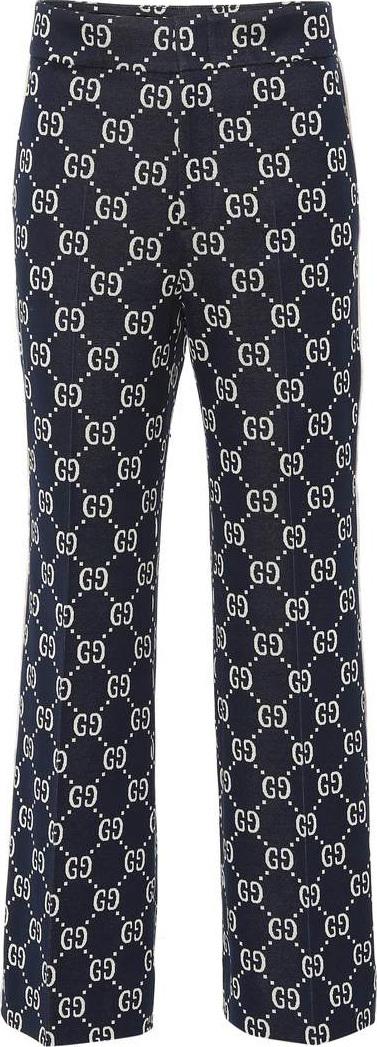 Gucci GG cotton jersey pants