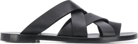 Jil Sander Toe-loop strappy sandals