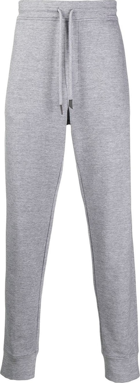 Ermenegildo Zegna Leather-trim track pants