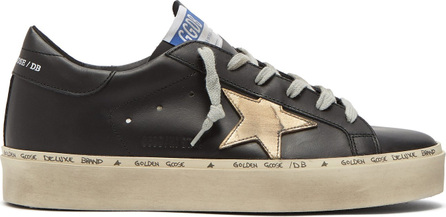 Golden Goose Deluxe Brand Hi Star exaggerated-sole leather trainers