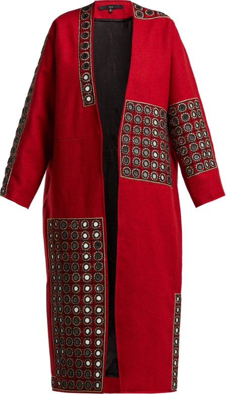 Behno Behno X Fafine Niutao I Aotearoa wool coat