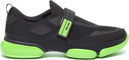 Prada 'Cloudbust' textile hook-and-loop strap panelled sneakers