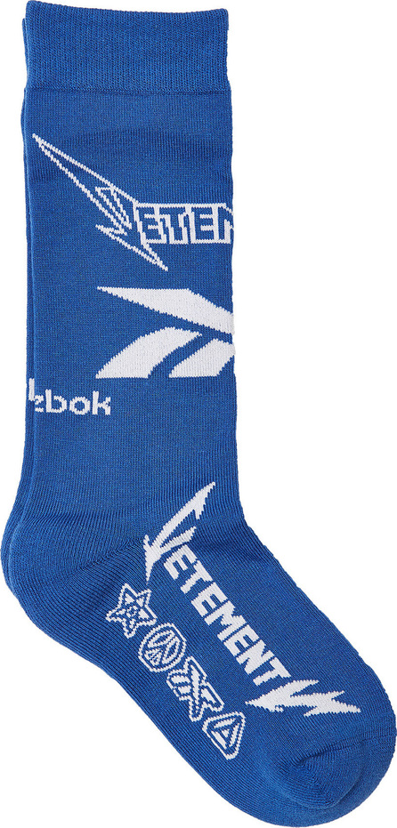 Vetements X Reebok Printed Socks with Cotton