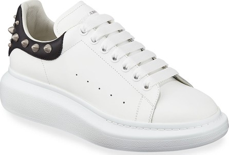 29365505f889 Alexander McQueen Men s Larry Leather Lace-Up Platform Sneakers with Spiked  Trim