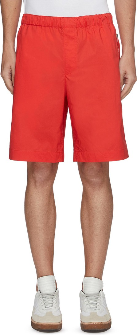 Helmut Lang Elastic waist cotton pull on shorts