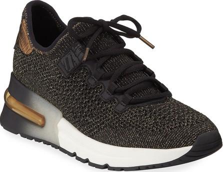 ASH Krush Bis Mesh Sneakers  Black/Gold