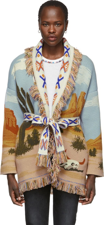 Alanui Multicolor Canyon Sunrise Cardigan