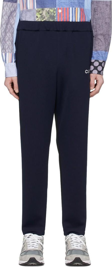 Comme des Garçons Homme Black & Navy Jersey Lounge Pants