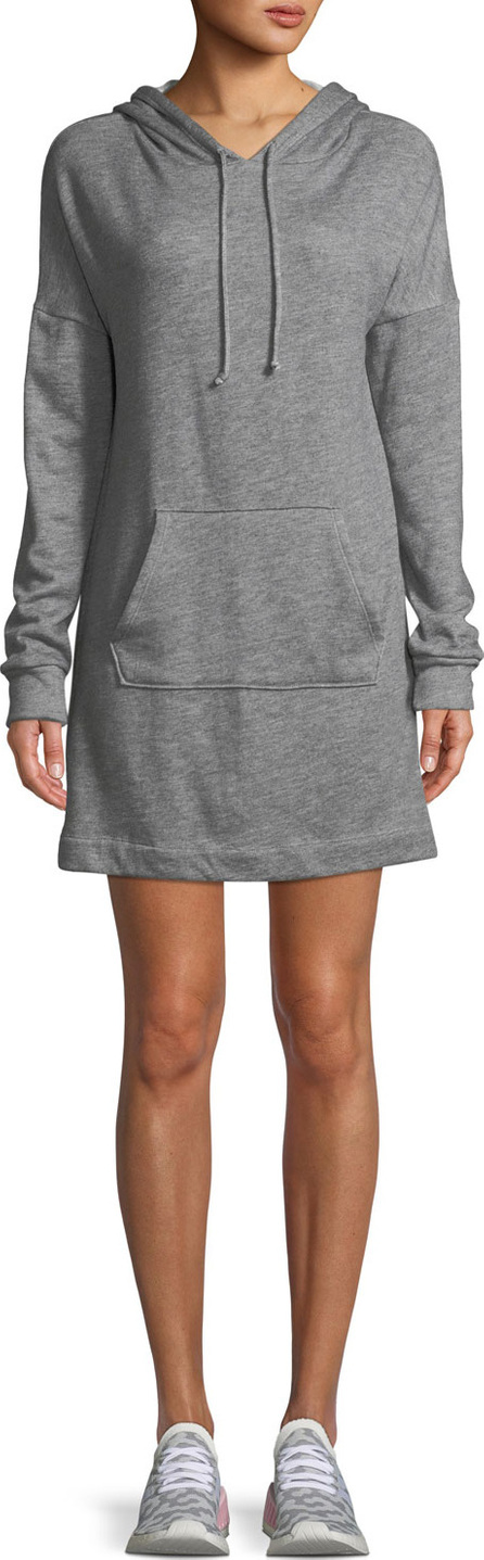 Beyond Yoga Hood Times Mini-Length Sweatshirt Dress