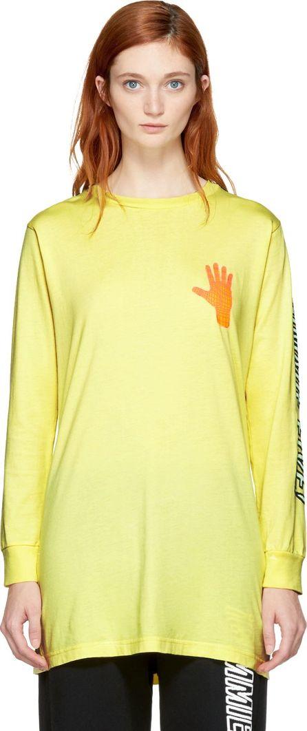 Ashley Williams Yellow 'Gimme Five!' T-Shirt Dress