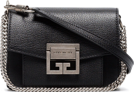 Givenchy Black GV3 Mini Leather Cross Body Bag