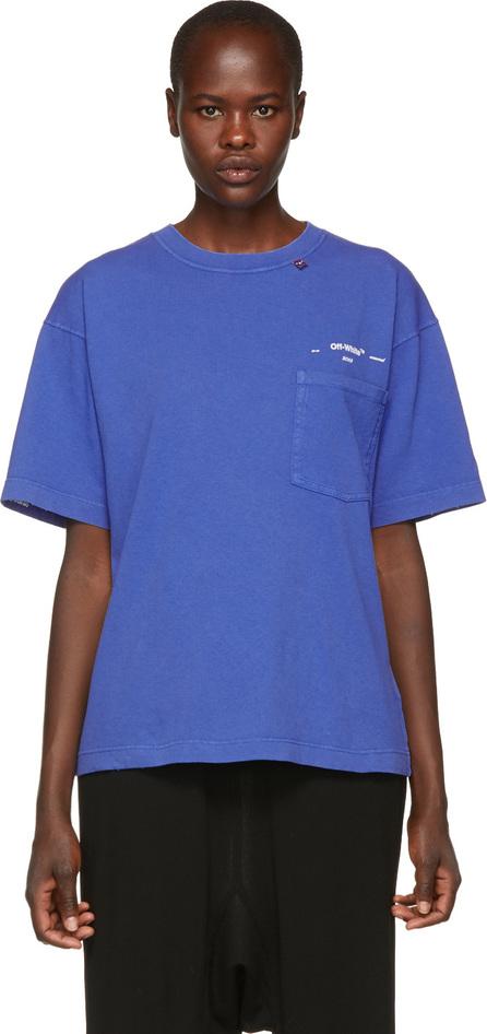 Off White Blue 80s Vintage T-Shirt