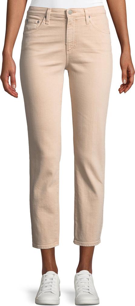 AG Jeans Isabelle Meteor Shower Straight-Leg Ankle Jeans
