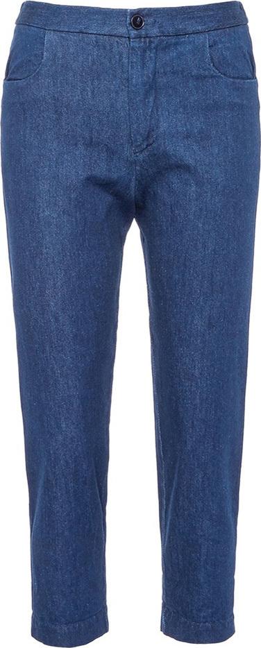 Barena 'Dana' raw boyfriend jeans