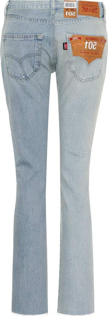 Vetements X Levi's® cropped jeans