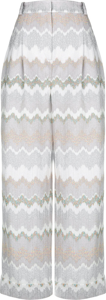Missoni Cropped patterned trousers