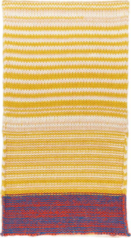 Calvin Klein 205W39NYC Yellow Wool Scarf