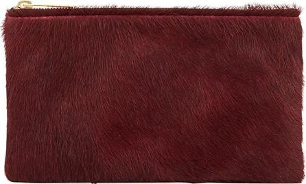 Allison Mitchell Large Fur Wallet Pouch Bag