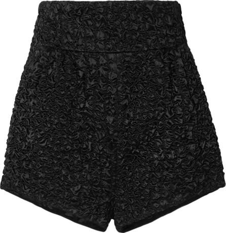 Saint Laurent Matelassé satin shorts