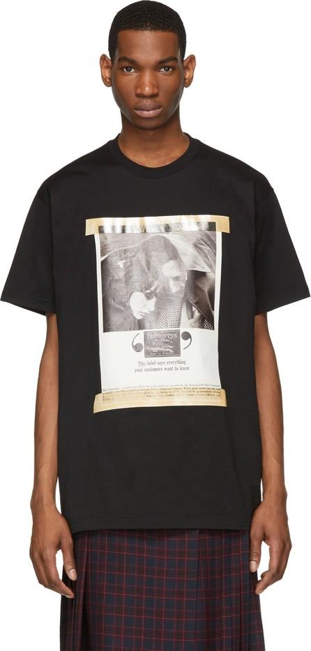 Burberry London England Black Archive Campaign T-shirt