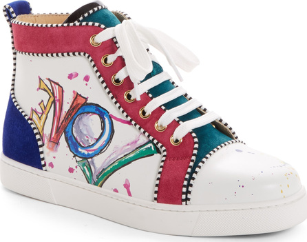 Christian Louboutin Love High Top Sneaker