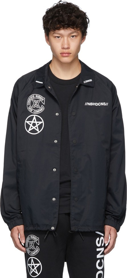 Neighborhood Black Converse Edition Flight Jacket