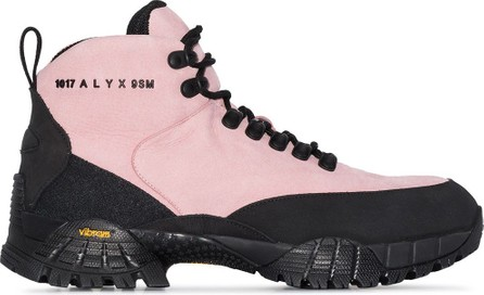 1017 ALYX 9SM Logo-embossed leather hiking boots