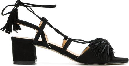 Rebecca Minkoff Lace up low heel sandals