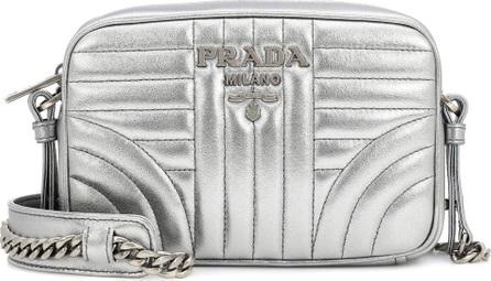 Prada Diagram Matelassé leather shoulder bag