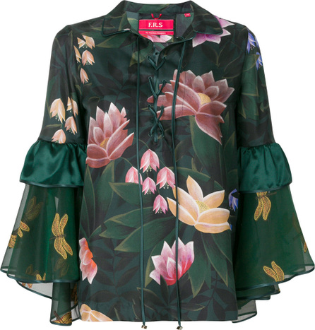 F.R.S For Restless Sleepers Floral print blouse
