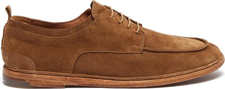 Antonio Maurizi Suede soft derby shoes