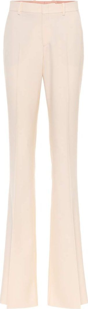 Gucci Flared wool trousers