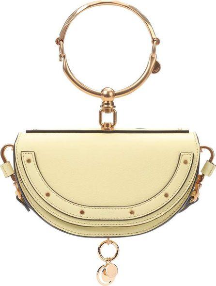 Chloe Nile Minaudière leather crossbody bag