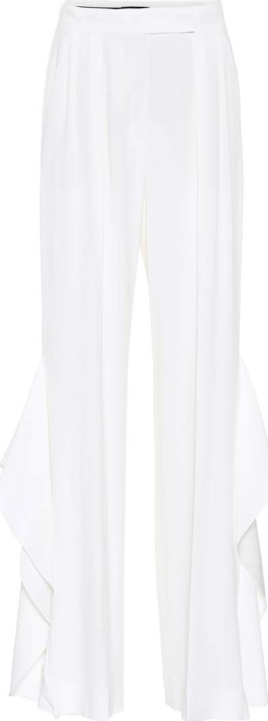 Max Mara Donnola ruffled wide-leg pants