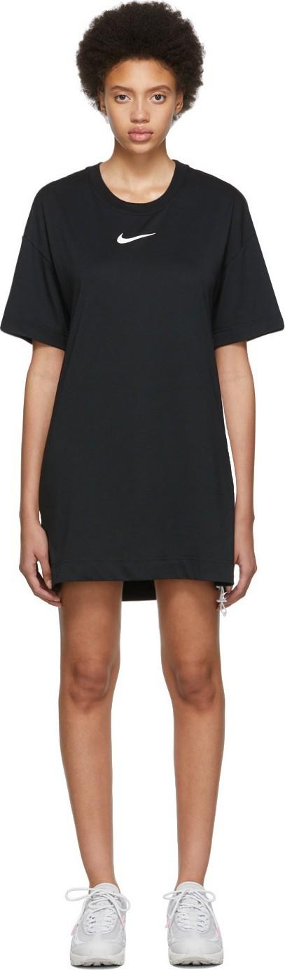 Nike Black Logo Loose-Fit Dress