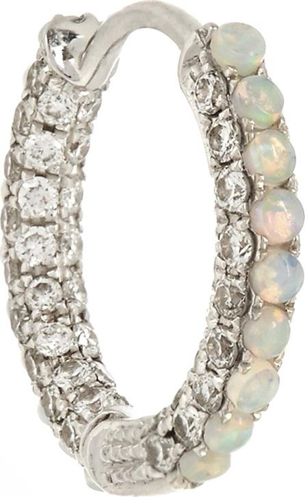 Maria Tash Diamond, opal & white-gold earring
