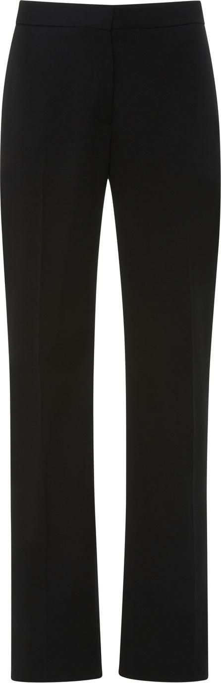 Carolina Herrera Wool-Blend Crepe Straight-Leg Pants