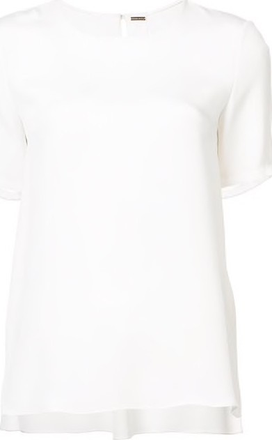 Adam Lippes Pleated-Back T-Shirt