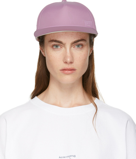 Acne Studios SSENSE Exclusive Purple Covia Face E Cap