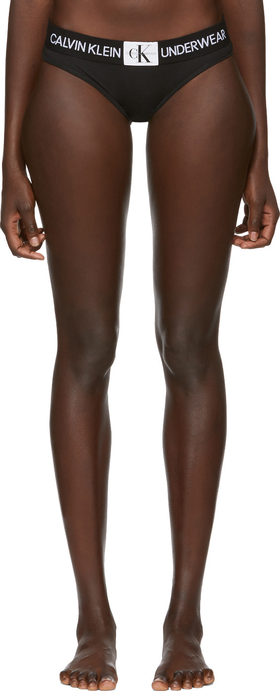 45a2ce2433e Calvin Klein Underwear Black Monogram Briefs - Mkt