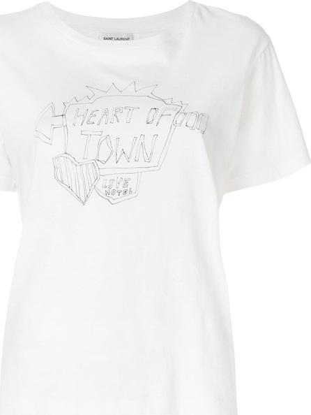 Saint Laurent Slogan T-shirt