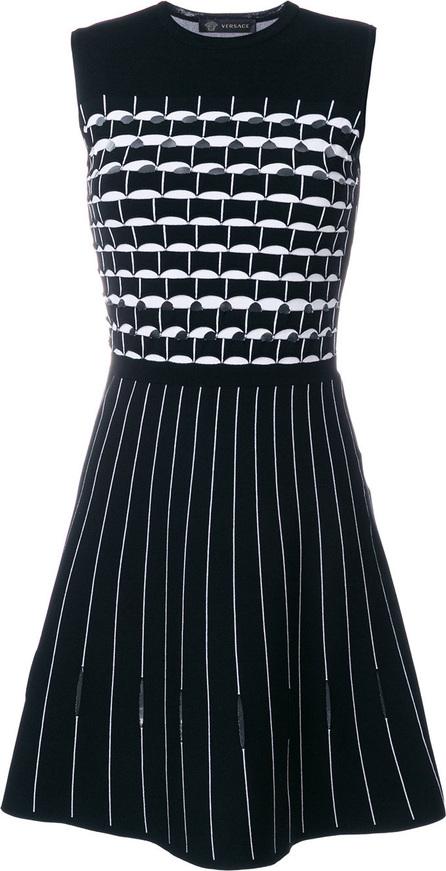 Versace Geometric patterned dress