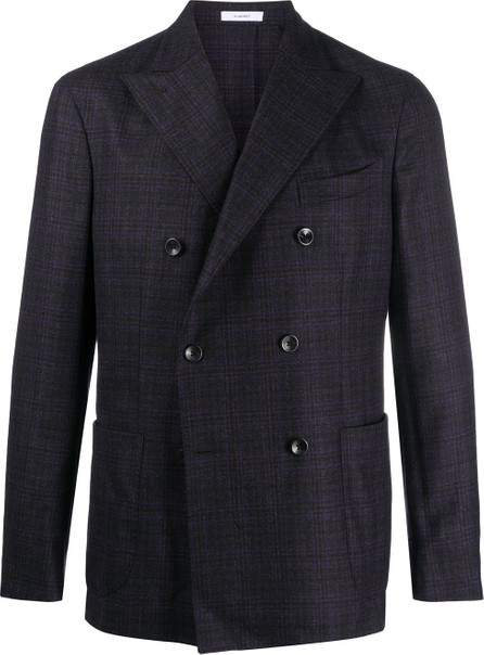 Boglioli Double-breasted check pattern blazer