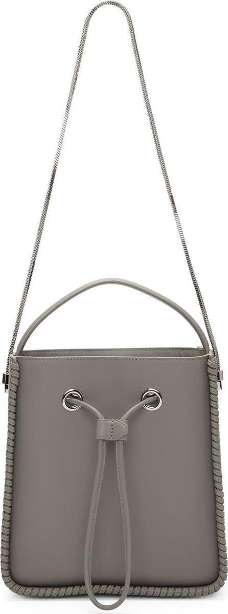 3.1 Phillip Lim Grey Large Soleil Bucket Bag
