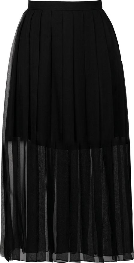 ROCHAS pleated layer skirt