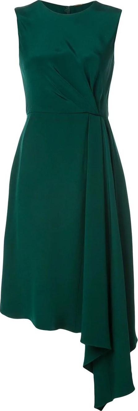 Adam Lippes asymmetric short-sleeve dress