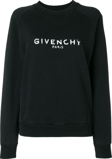 Givenchy Distressed logo sweatshirt