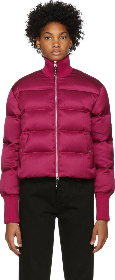 Alexander McQueen Pink Down Cropped Jacket