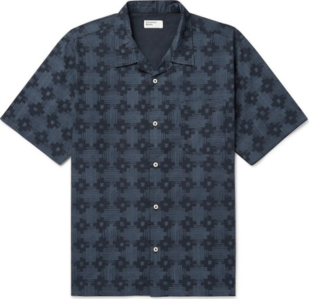 Universal Works Printed Cotton-Poplin Shirt